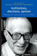 Institutions, élections, opinion