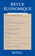Revue économique 64-1, janvier 2013