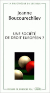 Une socit de droit europen?