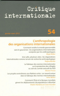 Critique internationale 54, janvier-mars 2012