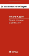 Opinion, sondages et démocratie