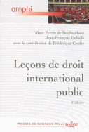 Leçons de droit international public