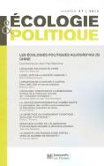 Écologie & politique 47, 2013