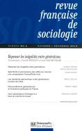 Revue française de sociologie 54-4, octobre-décembre 2013