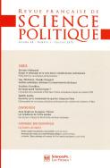 Revue française de science politique 65-1, 2015