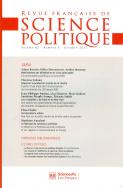 Revue française de science politique 63-5, Octobre 2013