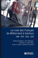 Le vote des Français de Mitterrand à Sarkozy