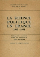 La science politique en france