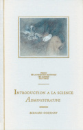 Introduction à la science administrative