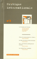 Critique internationale 02, hiver 1999